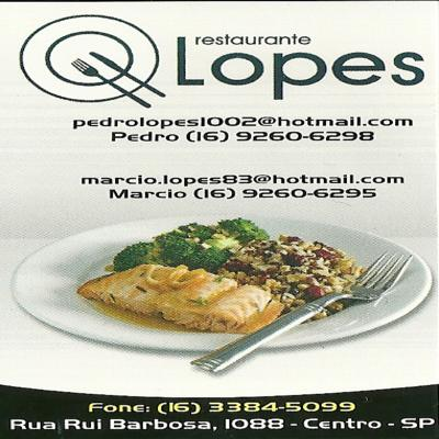 RESTAURANTE LOPES Matão SP